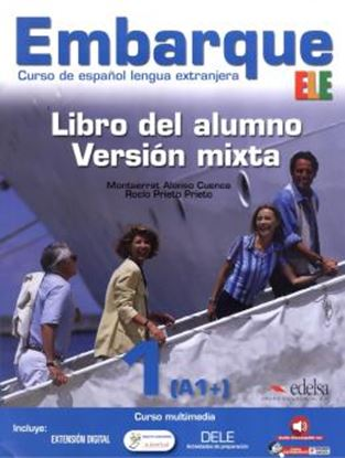 Imagem de EMBARQUE 1 - LIBRO DEL ALUMNO - VERSION MIXTA