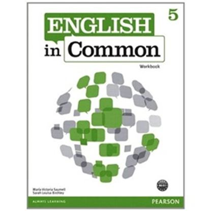 Imagem de ENGLISH IN COMMON 5 WB