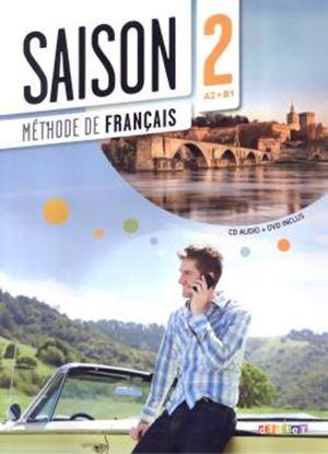 Imagem de SAISON 2 - LIVRE ELEVE + CD AUDIO + DVD (A2+)