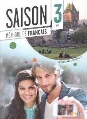 Imagem de SAISON 3 LIVRE ELEVE + CD AUDIO + DVD (B1)