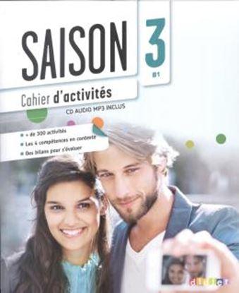 Imagem de SAISON 3 CAHIER D´ACTIVITES + CD MP3 (B1)