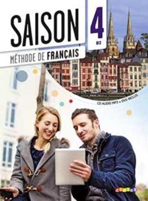 Imagem de SAISON 4 LIVRE ELEVE + CD AUDIO + DVD (B2)