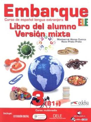 Imagem de EMBARQUE 3 - LIBRO DEL ALUMNO - VERSION MIXTA INCLUYE CD AUDIO