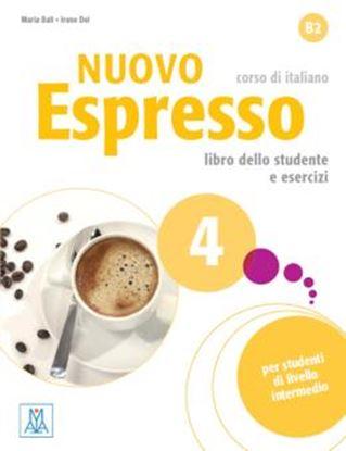 Imagem de NUOVO ESPRESSO 4 LIBRO STUDENTE E ESERCIZI  + DVD ROM B2